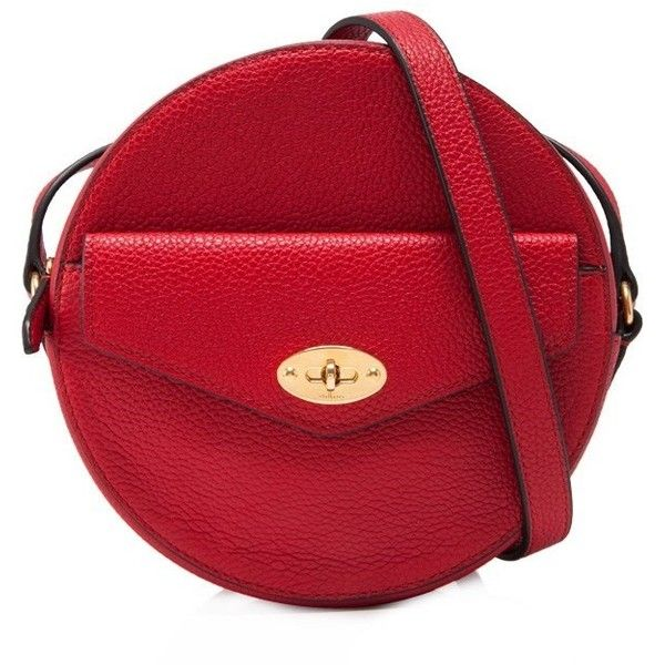 586412db5d2 Mulberry Darley Round Clutch (£485) ❤ liked on Polyvore featuring bags,  handbags, clutches, red, red clutches, red handbags, print purse, red purse  and ...