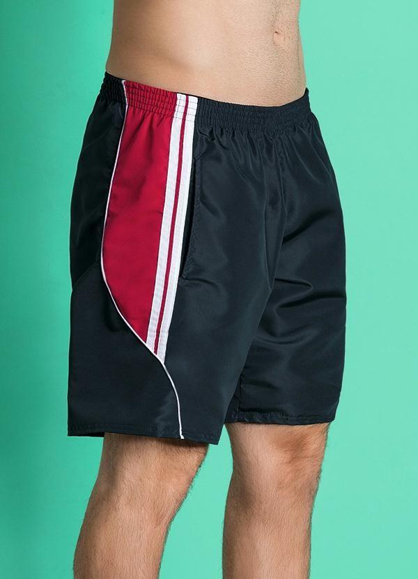 Short Calção Fitness Masculino Nylon com Bolsos Short - Calção ideal para  prática de passeios e48ef605c677b