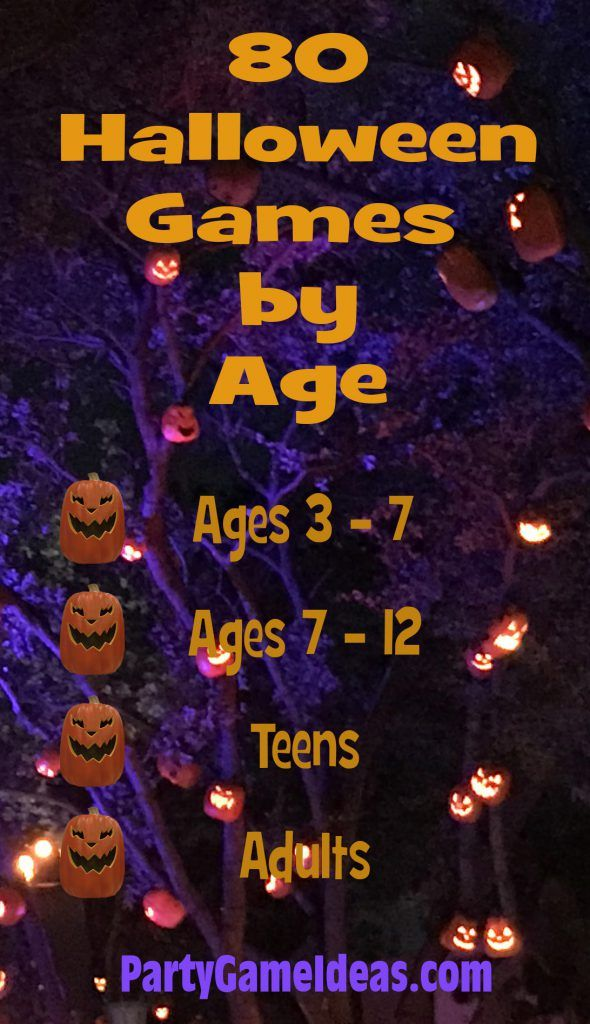 Halloween Party Games by Age in 2020 Halloween games for