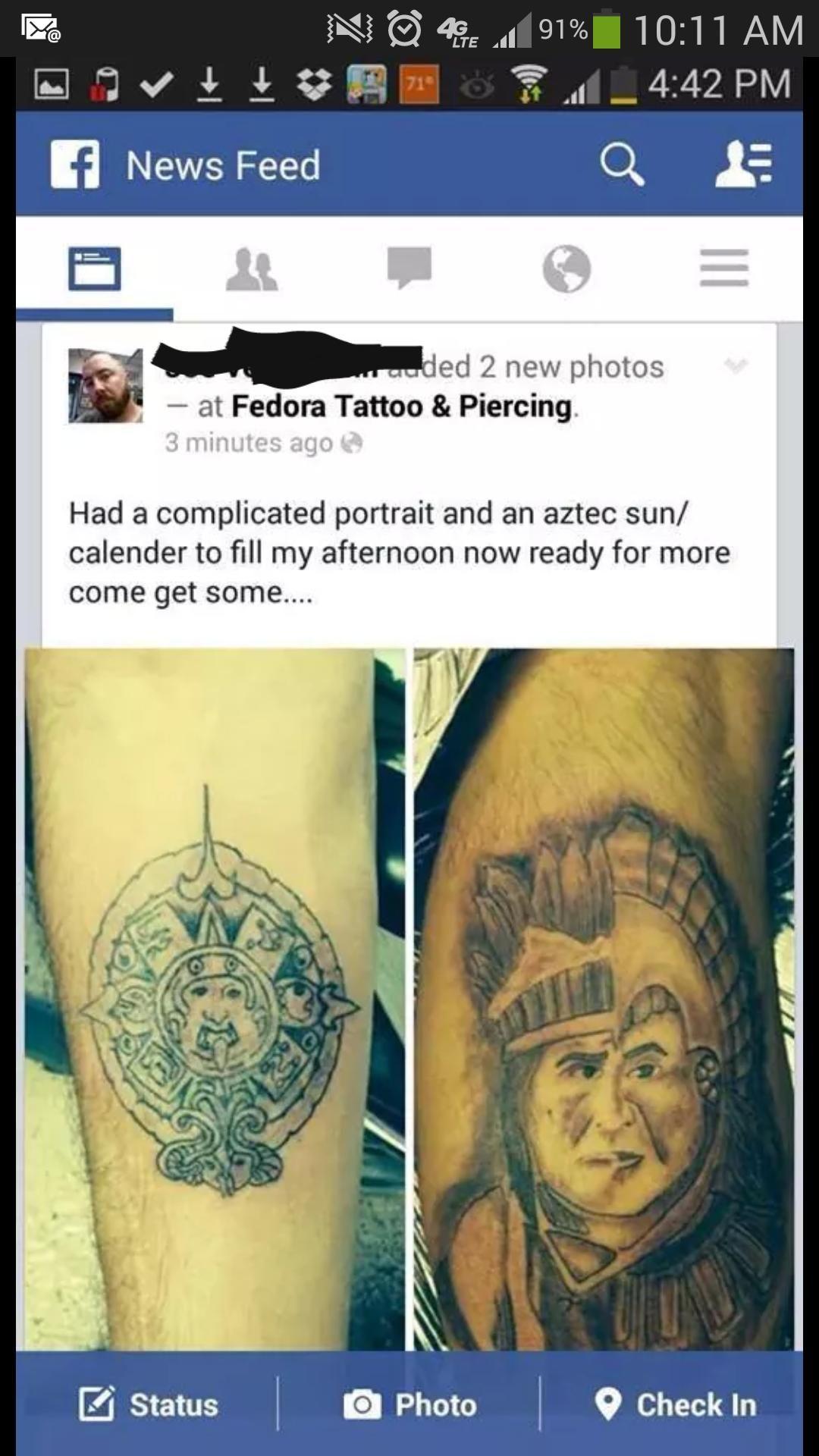 Tattoo fedora | Etsy  |Fedora Tattoos