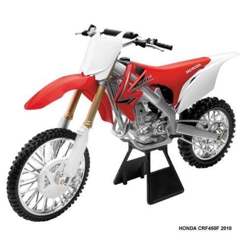 New Ray 1 6 Scale Honda Crf 450 Dirt Bike Replica Toy Model Motocross Crf450r Honda Diecast Scale Models