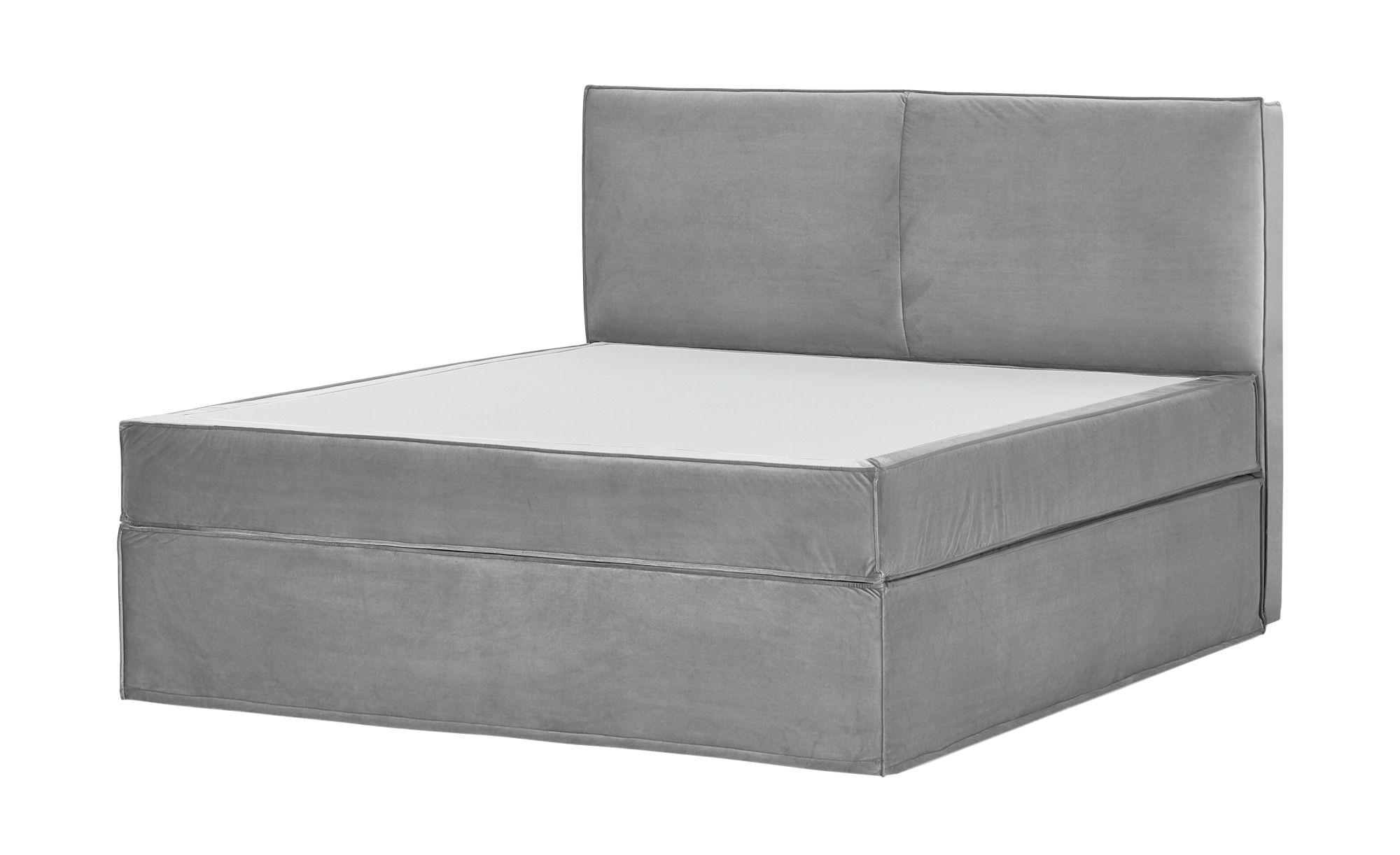 Photo of Boxi box spring bed, found at Möbel Höffner
