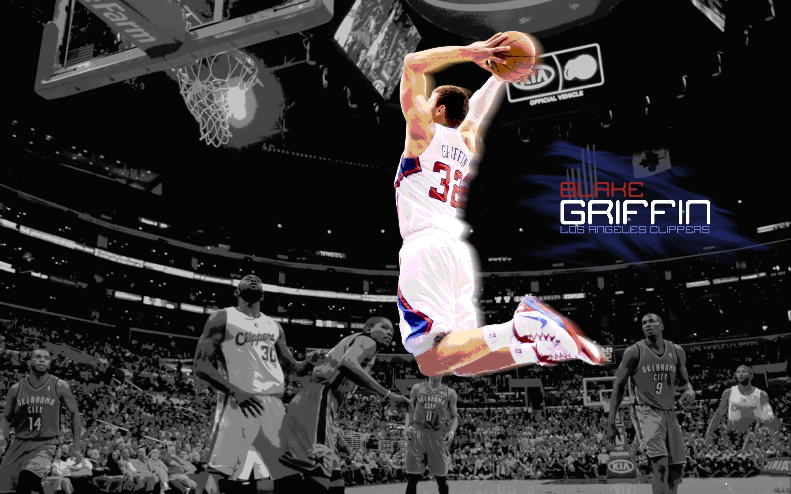 Blake Griffin Losangeles Clippers Hd Wallpapers Blake Griffin Blake Griffin Wallpaper Griffin Wallpaper