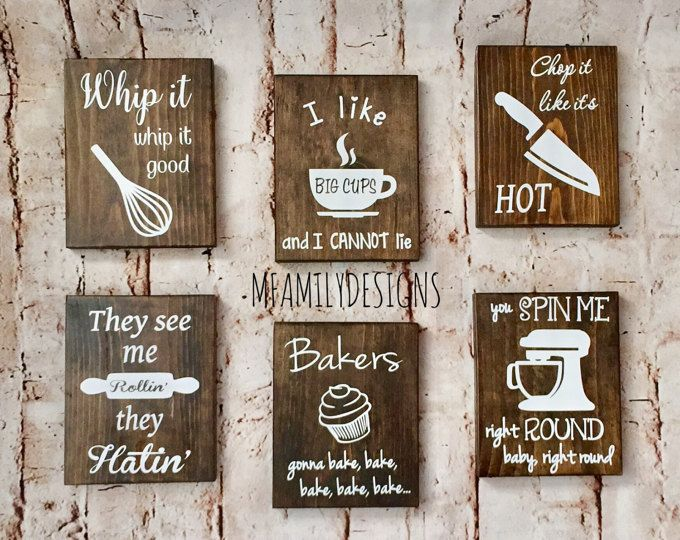 Beau Funny Kitchen Signs   Rustic Kitchen Decor  Hilarious Kitchen Signs   Kitchen  Signs   Wooden Signs   Funny Kitchen Quotes