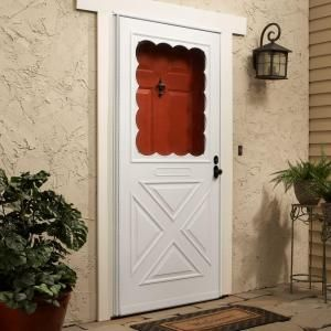 Forever White In Door Crossbuck Storm Hdpxb36wh At The Home Depot Mobile