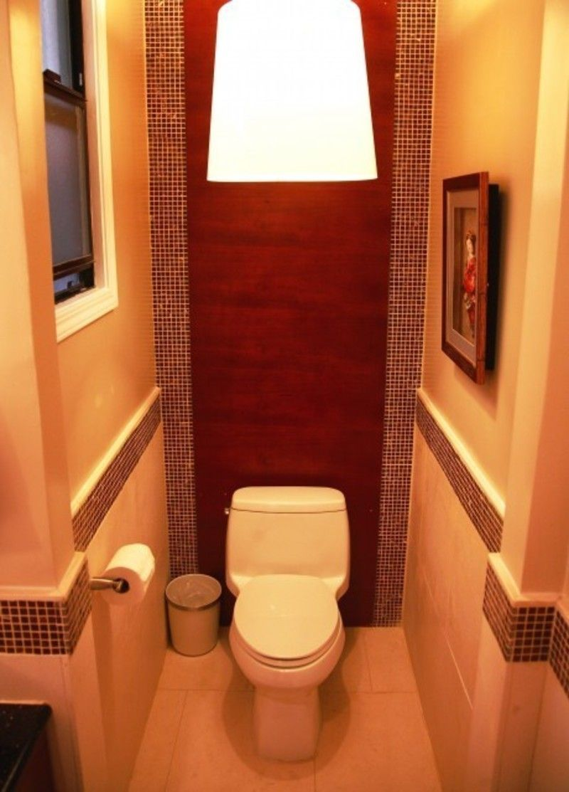 Dramatic Decorations For A Small Bathroom Space Small Toilet Space Design
