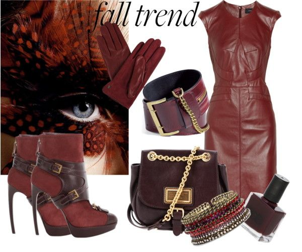 """fall trend"" by dijanag ❤ liked on Polyvore"