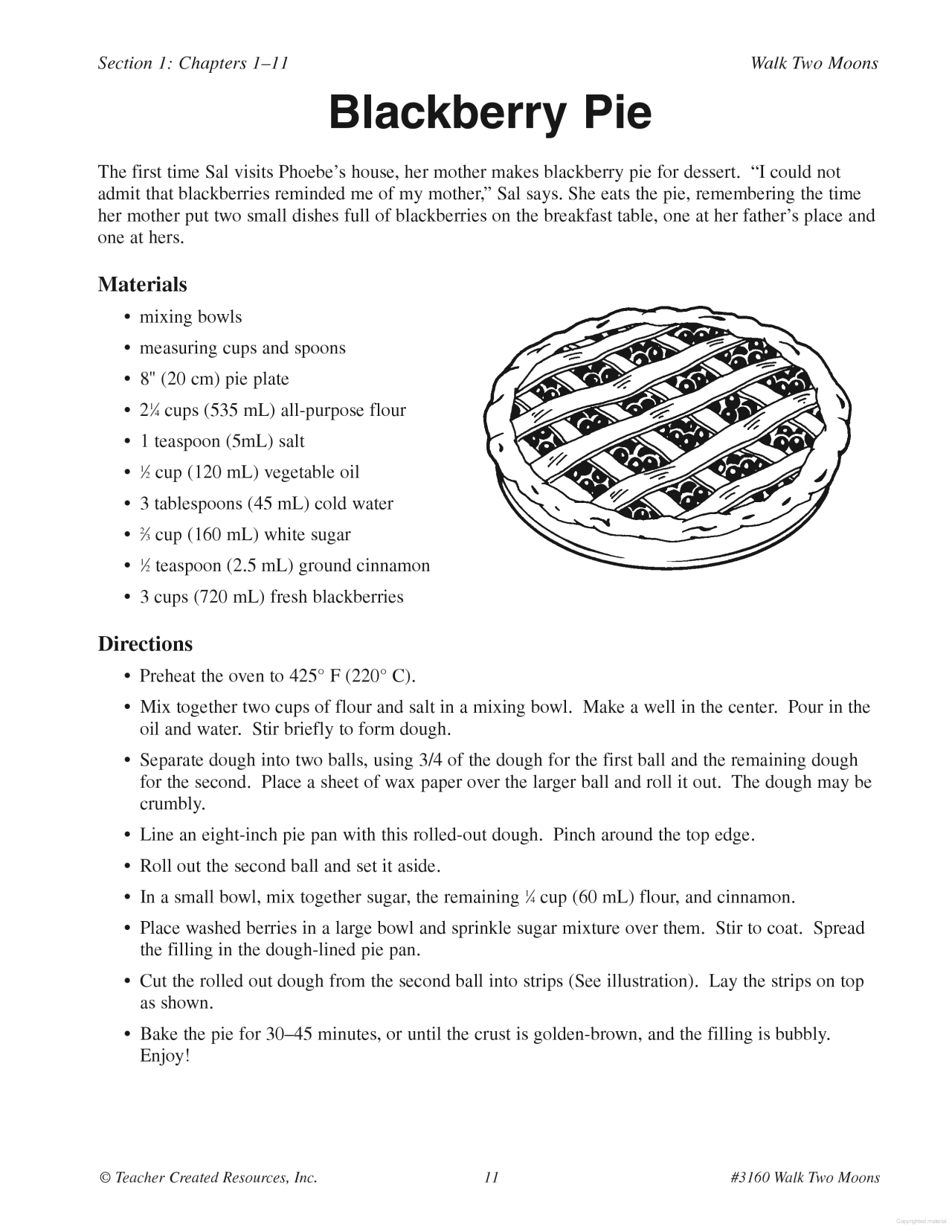 A Guide For Using Walk Two Moon In The Classroom Vocabulary Building Essay Discussion Question Theme
