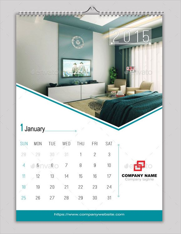 9 Indesign Calendars In Design Eps  Calendar Sample Design