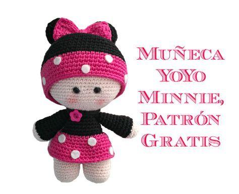 gratis free:Muñequita YoYo Minnie Amigurumi Patrón Gratis Os habéis ...