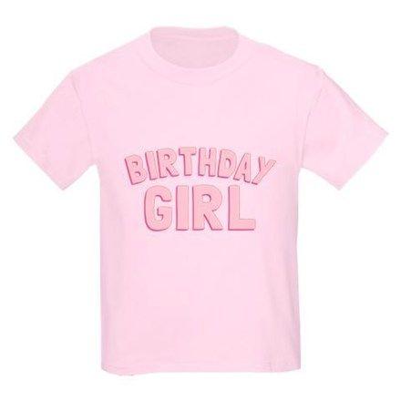 Birthday Girl Kids Light T-Shirt