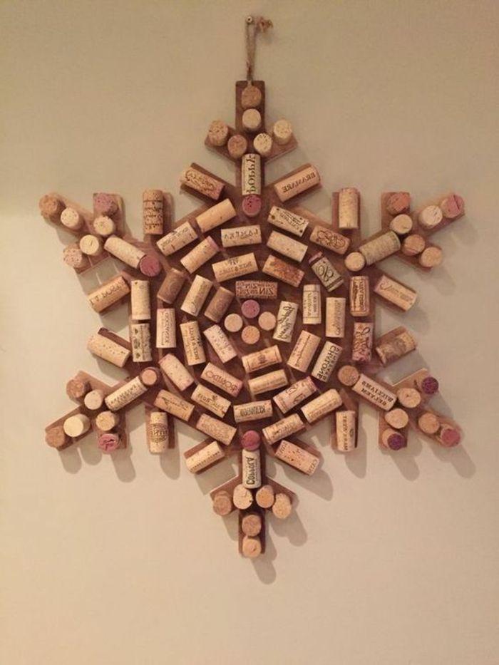 1001 id es que faire avec des bouchons en li ge no l wine cork art wine cork crafts et. Black Bedroom Furniture Sets. Home Design Ideas