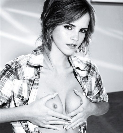 Emma Watson Nude Celebrity Tits and Upskirt - Pornhubcom