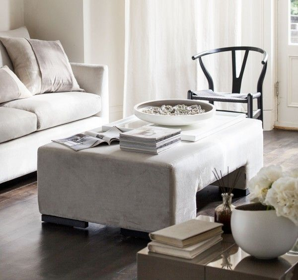 Buy The Rectangular Ottoman from Kelly Hoppen London | kelly hoppen ...