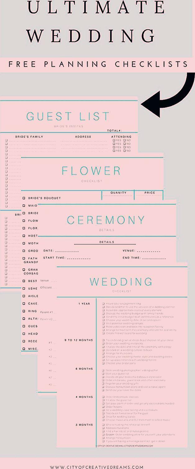 Photo of Ultimate Wedding Planning Checklist – City of Creative Dreams