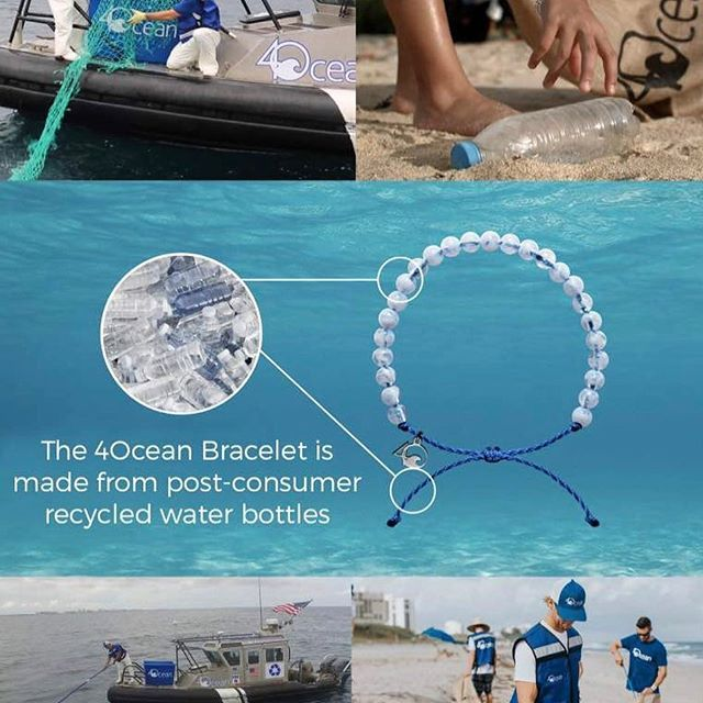 Lmao This Is So Cool Ocean Makes Their Bracelets From Recycled - 4ocean