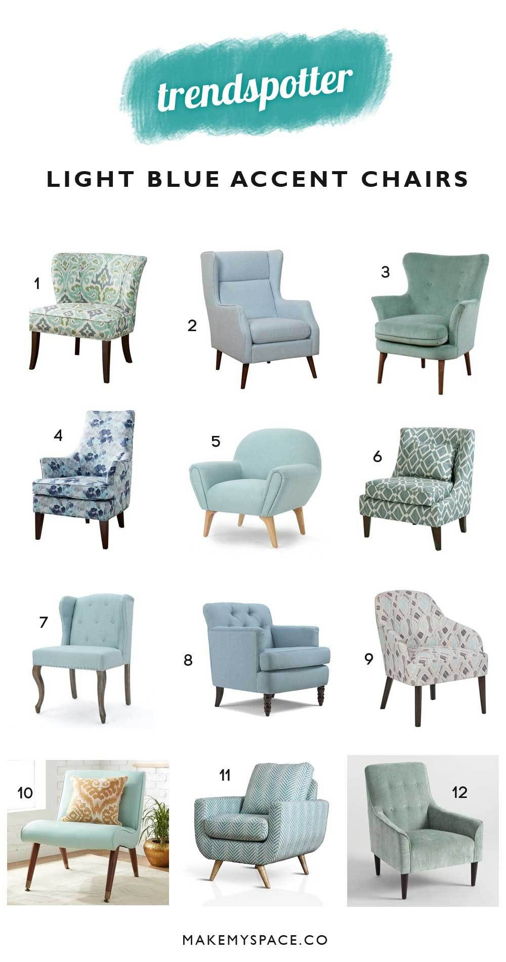 12 Blue Accent Chairs That Will Bring A Beach Vibe To Any Room Blue Accent Chairs Living Room Chairs Living Room Sofa Design