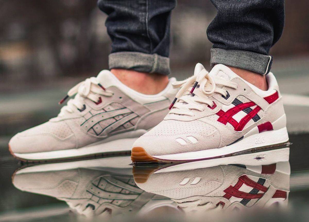 Asics Gel Lyte 3 Game Set Match Sneakers Outfit Men Sneakers Fashion Sneakers Men Fashion