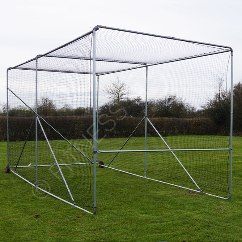 A Robust Steel Mobile Cricket Net Cage With Professional Specification Quality The Entire Structure Can Be Moved By Just T Mobile Cricket Cricket Nets Cricket