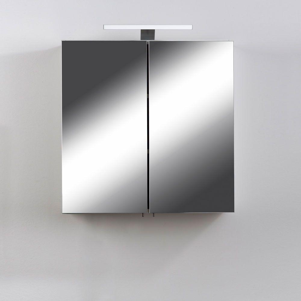 Bad Spiegelschrank Mit Led Lampe 60 Cm Breit Jetzt Bestellen Unter