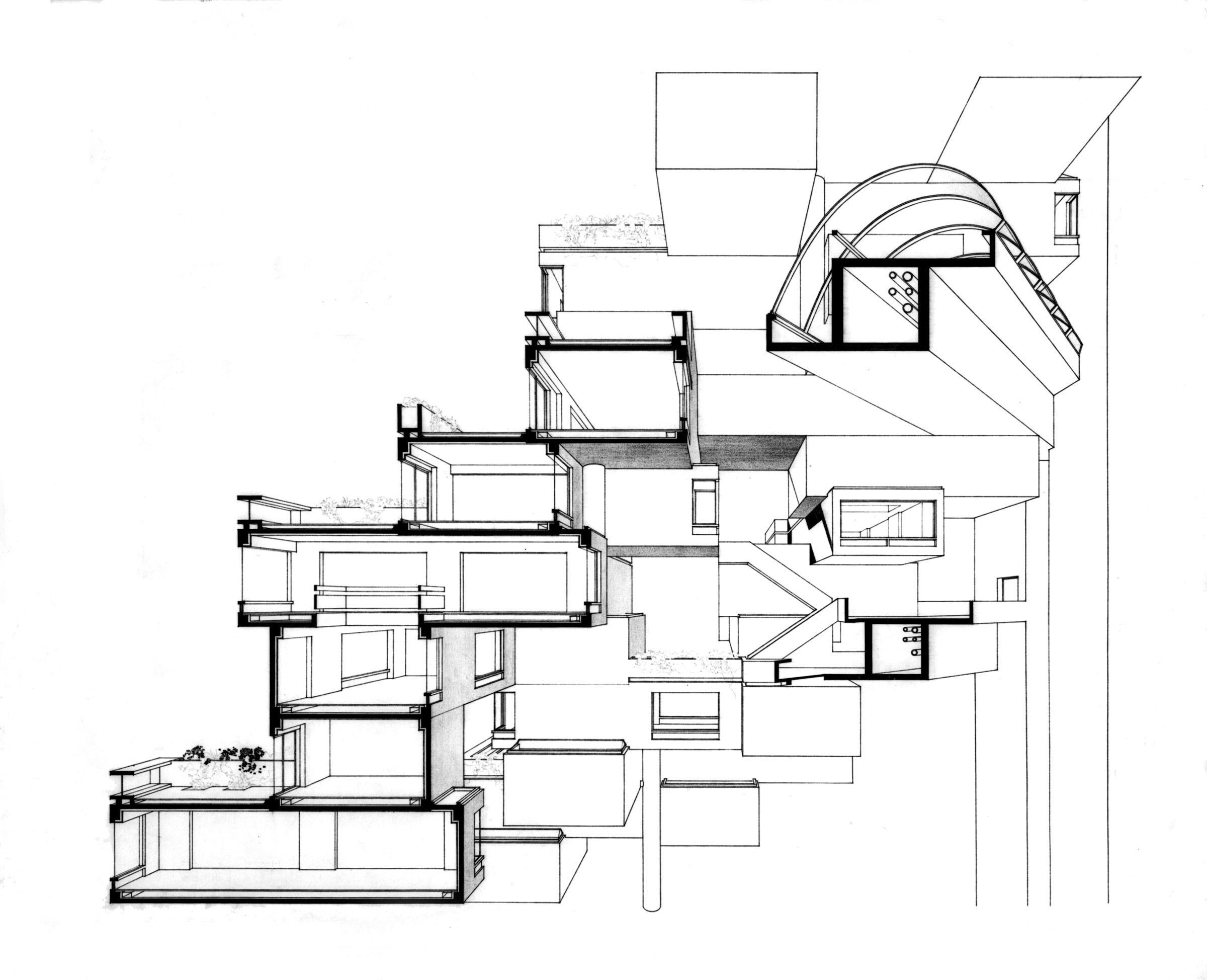 Habitat 67 pinterest architecture concept diagram and architecture ccuart Gallery