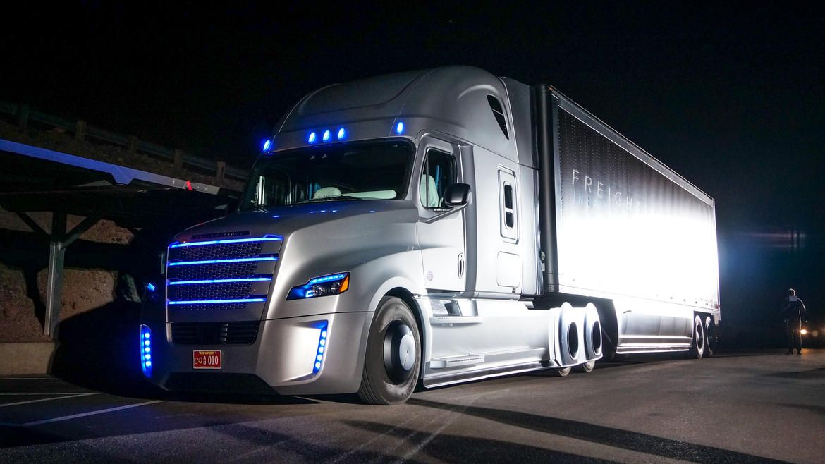 Unveiled today in Las Vegas, this big-rig features a Highway Pilot system that lets it drive itself during long highway hauls.