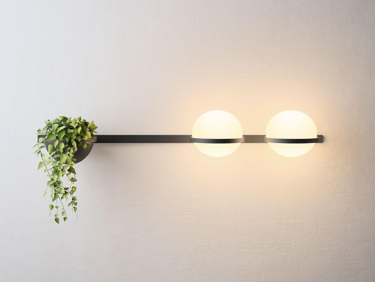 Palma lampada da parete in lighting
