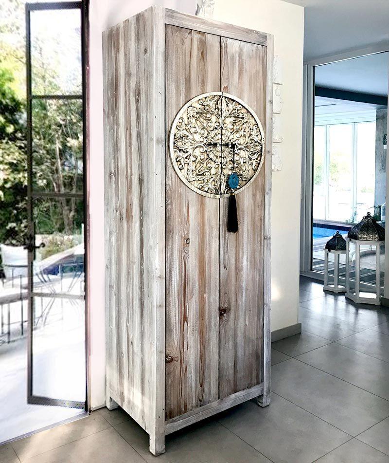 armarios roperos rusticos mueble restaurado unico puedes