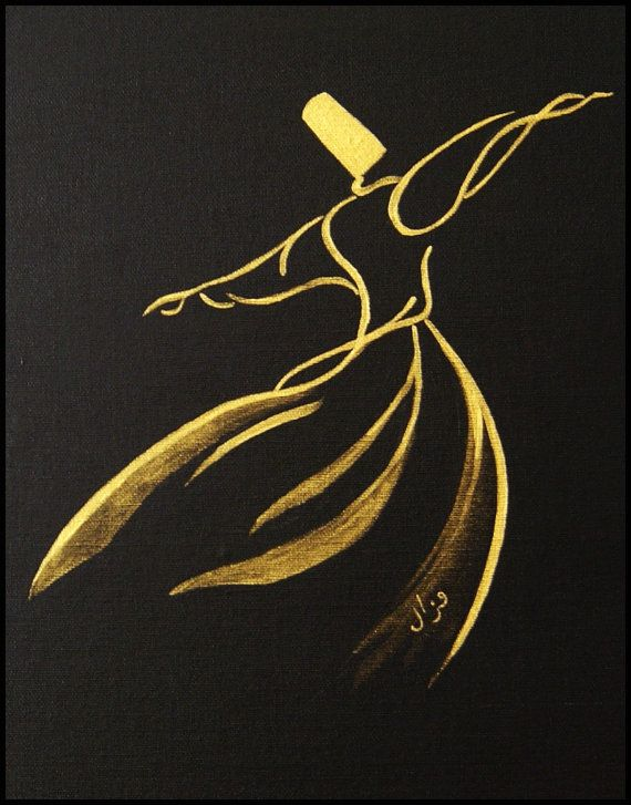 Semazen Wall Art And Decoration Whirling Dervish Sufism