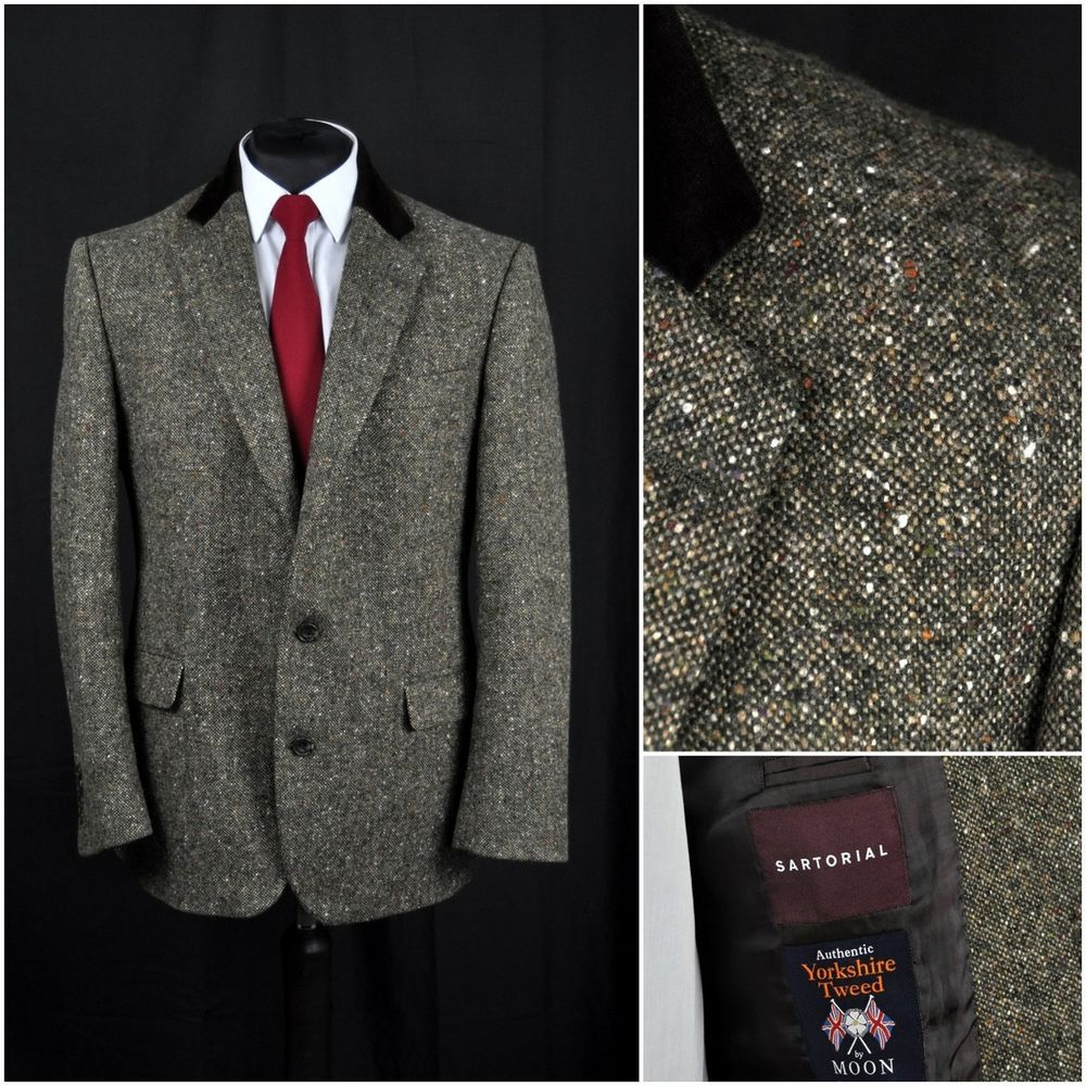 professional design high quality purchase cheap MARKS SPENCER MENS SARTORIAL YORKSHIRE TWEED JACKET WOVEN by ...