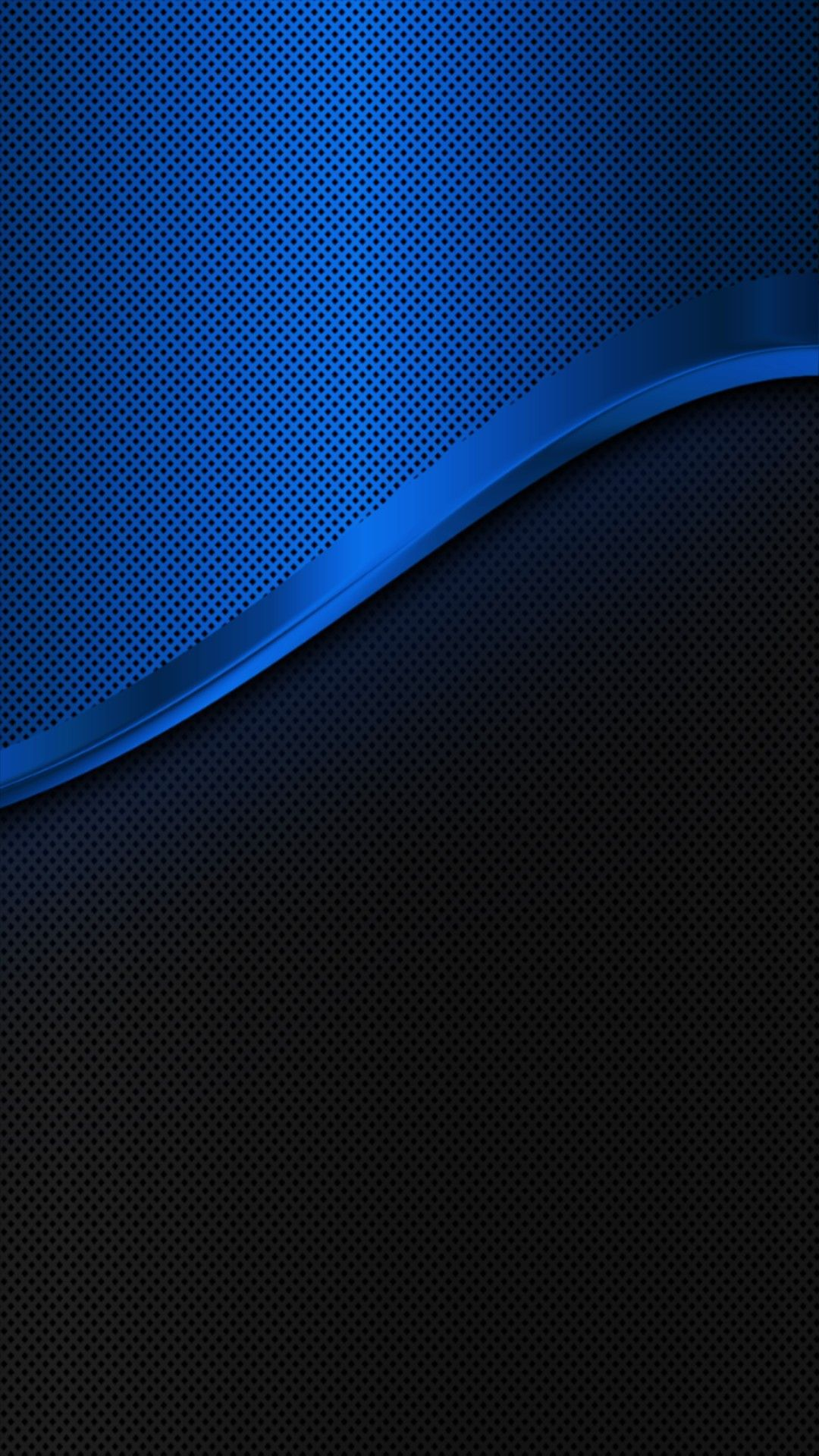Blue Brushed Metal Android wallpaper blue, Pretty phone