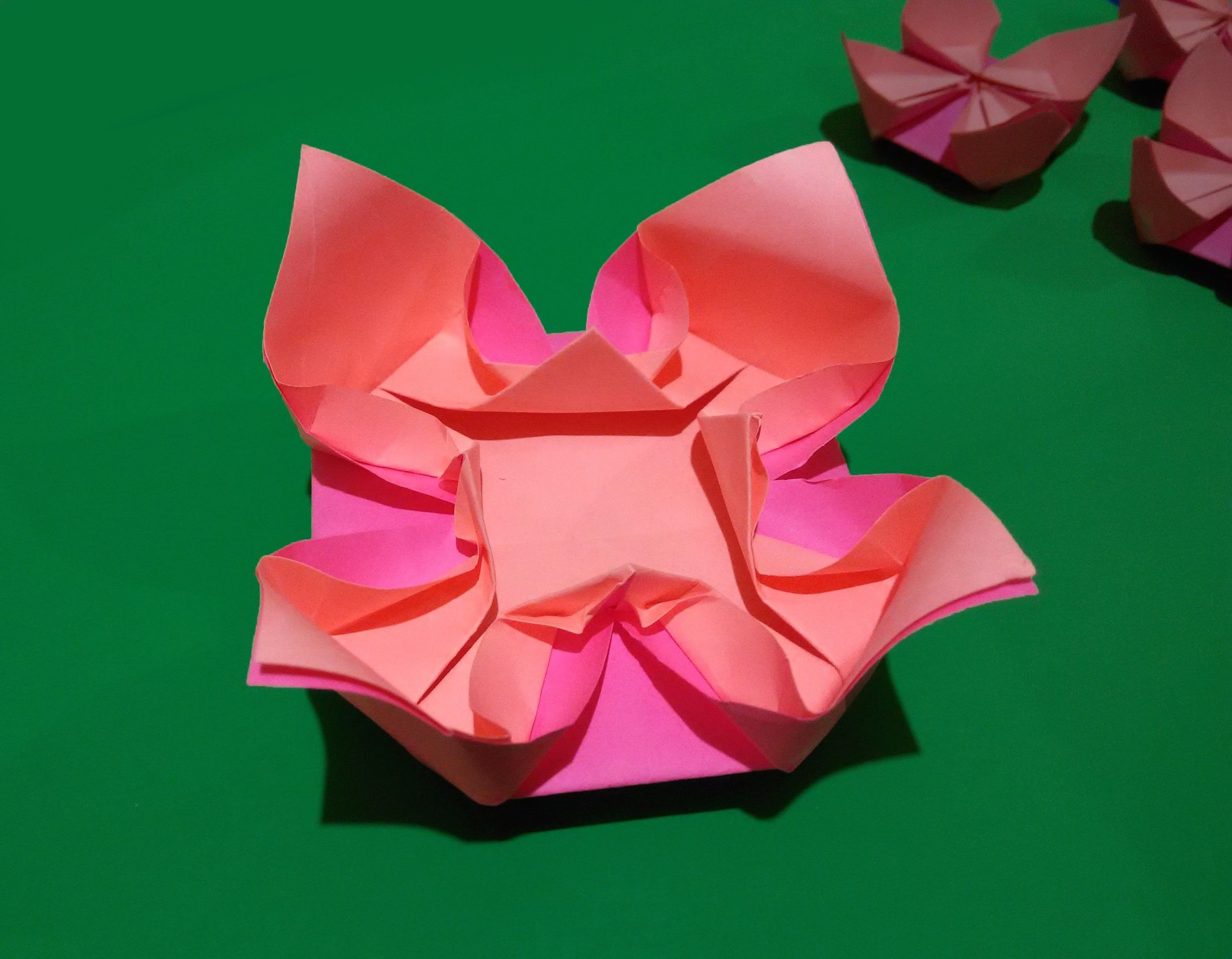 Easy Origami Flower Easy And Rich Paper Flower Ideas For Easter