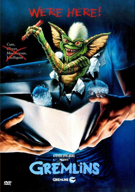 D Gremlins Movie POSTER 27 x 40 Zach Galligan Phoebe Cates LICENSED NEW
