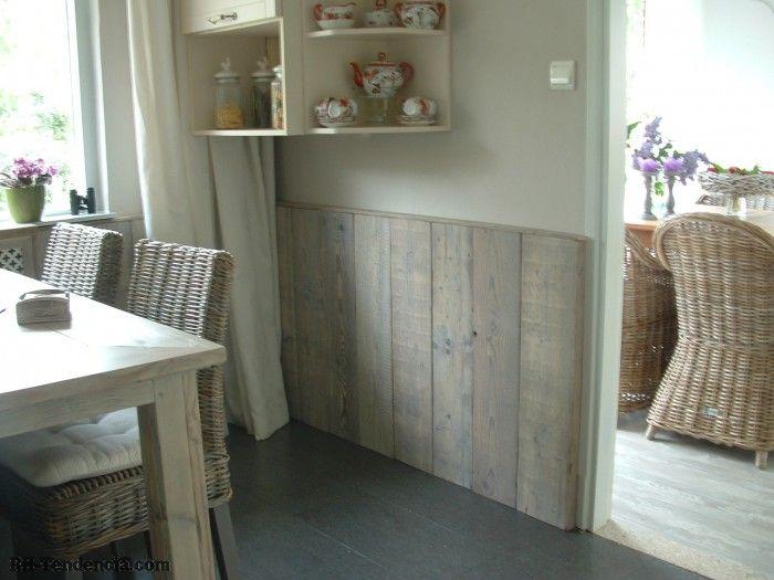 Lambrisering in de woonkamer google zoeken idee n voor het huis pinterest lambrisering - Deco woonkamer met trap ...