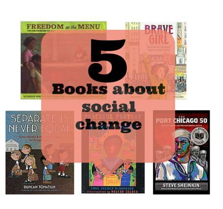 5 Books for young people about social change