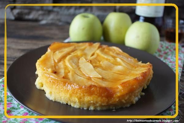 Entre Dulces y Postres: Tarta de manzana y flan