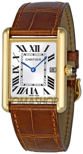 e4d64c691ab Cartier Tank Louis 18kt Yellow  Gold Mens  Watch W1529756