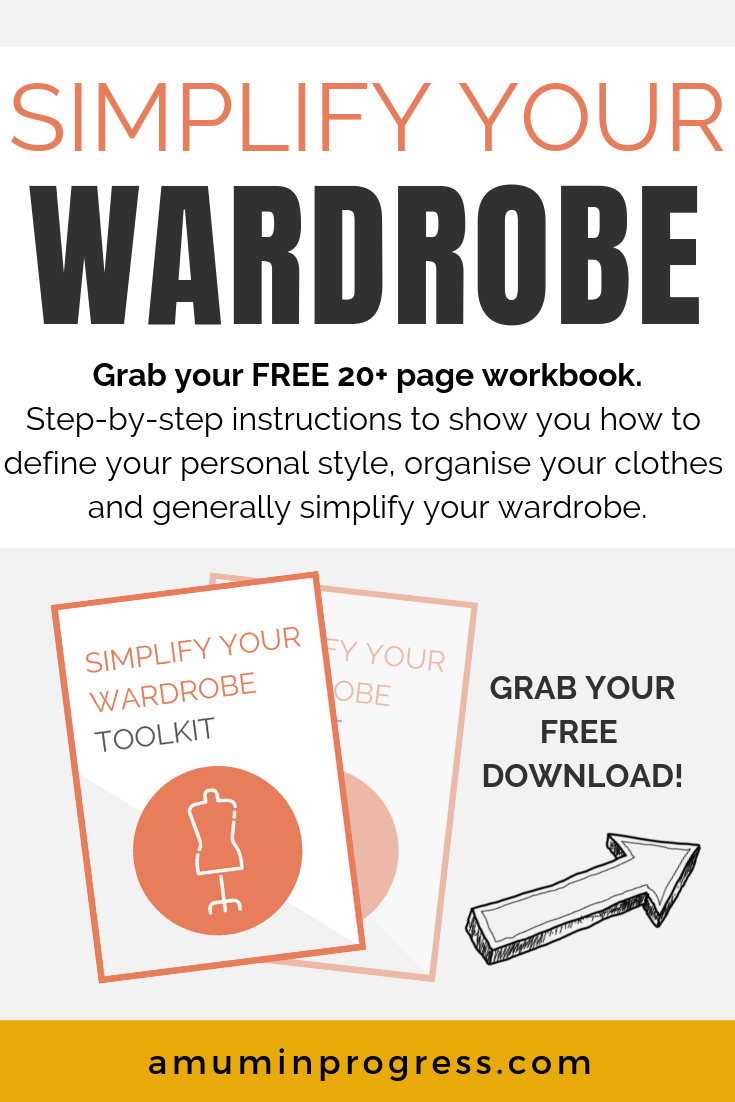 Simplify Your Wardrobe Toolkit Simple living