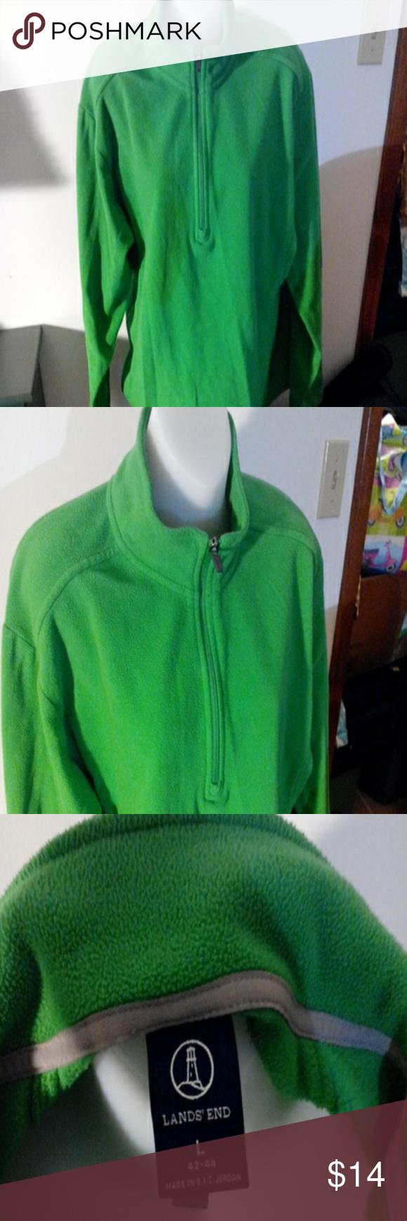 Lands End Large Green Sweatshirt Sweatshirts Green Sweatshirt Clothes Design [ 1740 x 580 Pixel ]