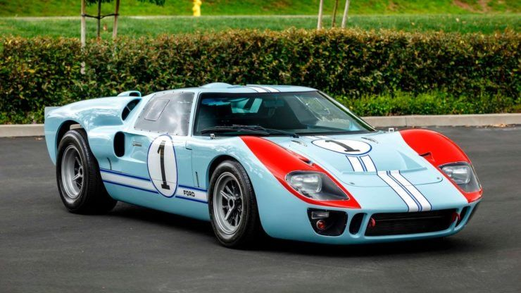 For Sale The Ken Miles Car From Ford V Ferrari A Superformance Ford Gt40 フォードgt40 自動車レース 自動車