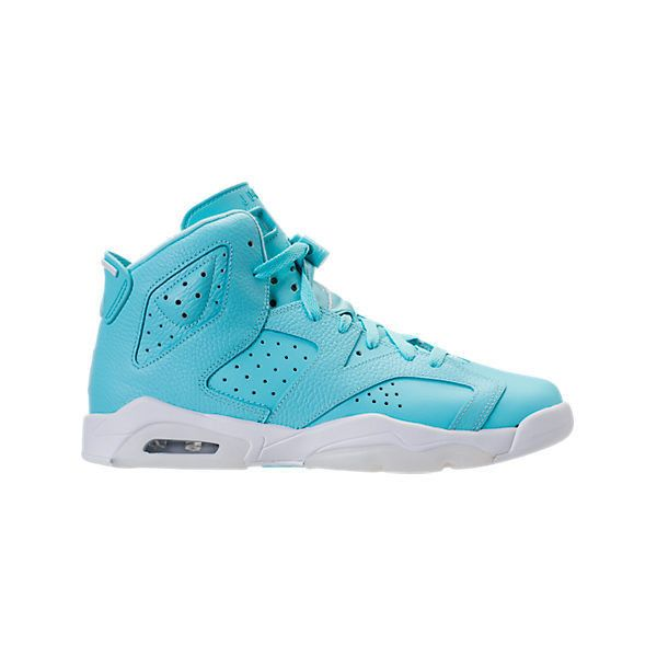 bc5891a764189e Girls  Grade School Air Jordan Retro 6 Basketball Sneakers ( 140) ❤ liked  on Polyvore featuring air jordan 6