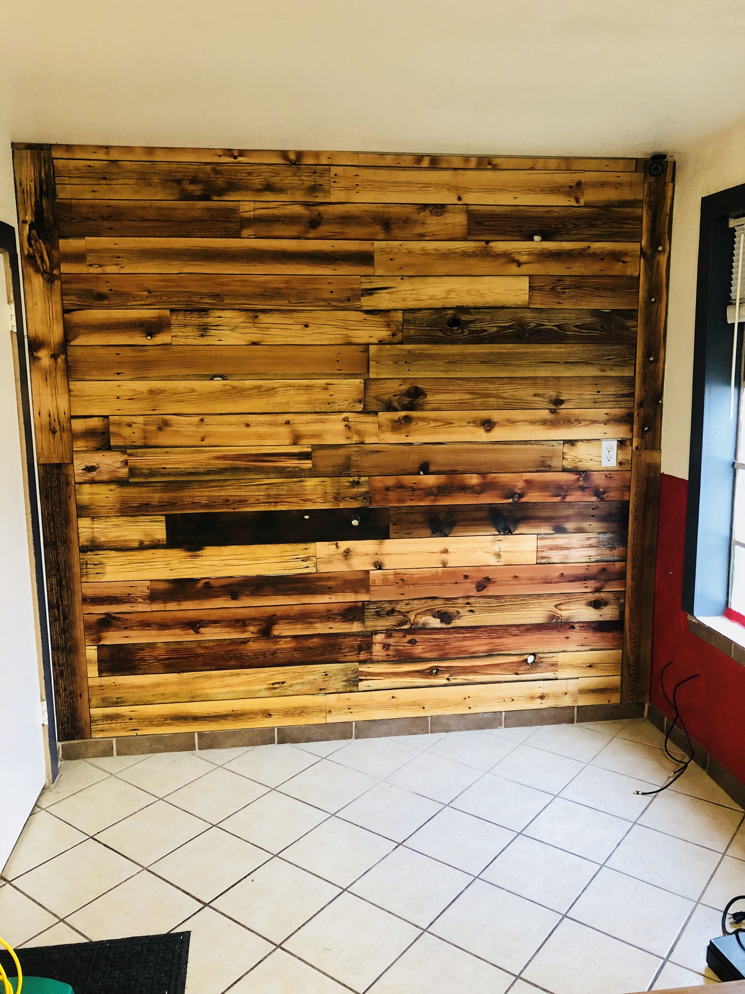 Pallet Fence Wall