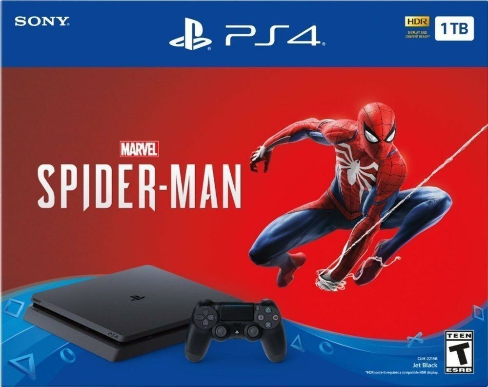Sony Playstation 4 1tb Marvel S Spider Man Console Bundle Fifa 19 Dragon Ball Ps4 Gaming Video Marvel Spiderman Spiderman Ps4