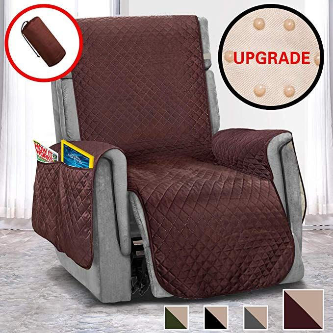 Vailge Oversized Recliner Covers Durable Recliner Slipover With Back Non Slip Dots Machine Washable Recli Recliner Cover Oversized Recliner Recliner Slipcover