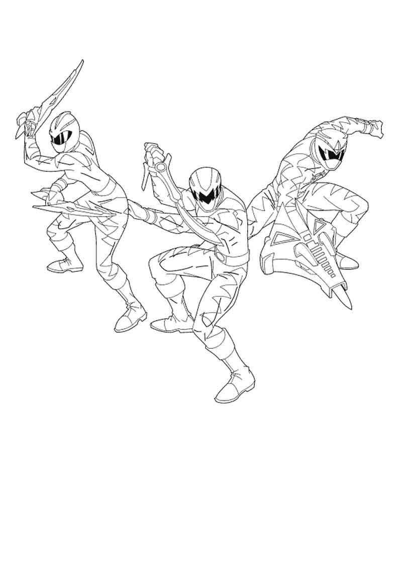 Power Rangers Ninja Storm Coloring Pages