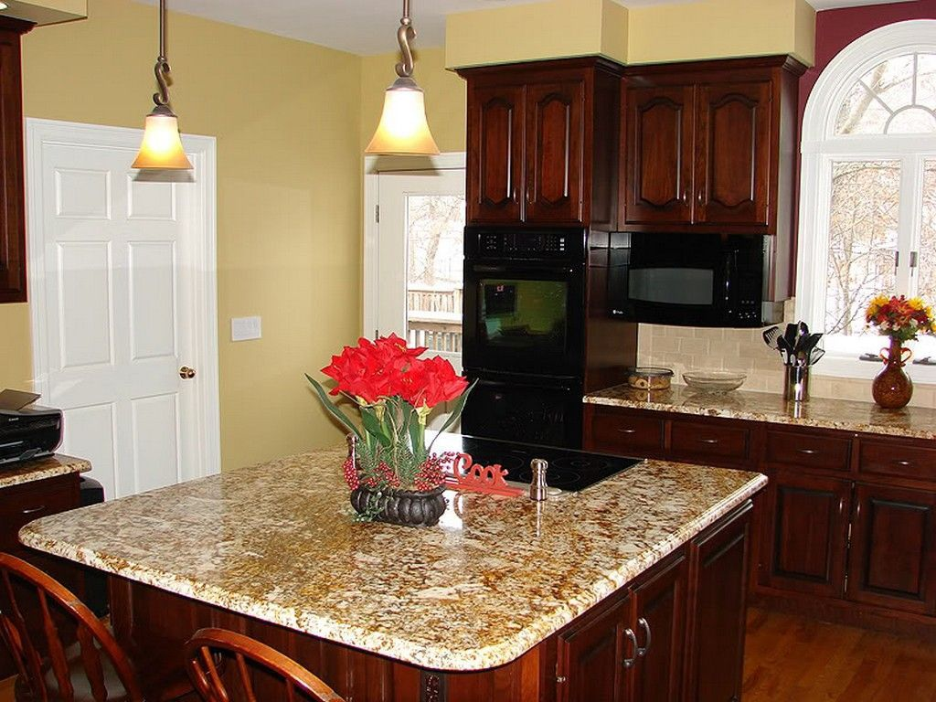 Kitchen Color Schemes With Cherry Cabinets: Try Them Out ...