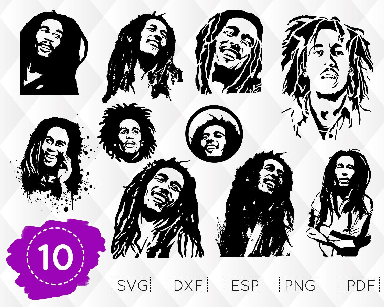 Download BOB MARLEY SVG, reggae svg, bob marley print, bob marley ...