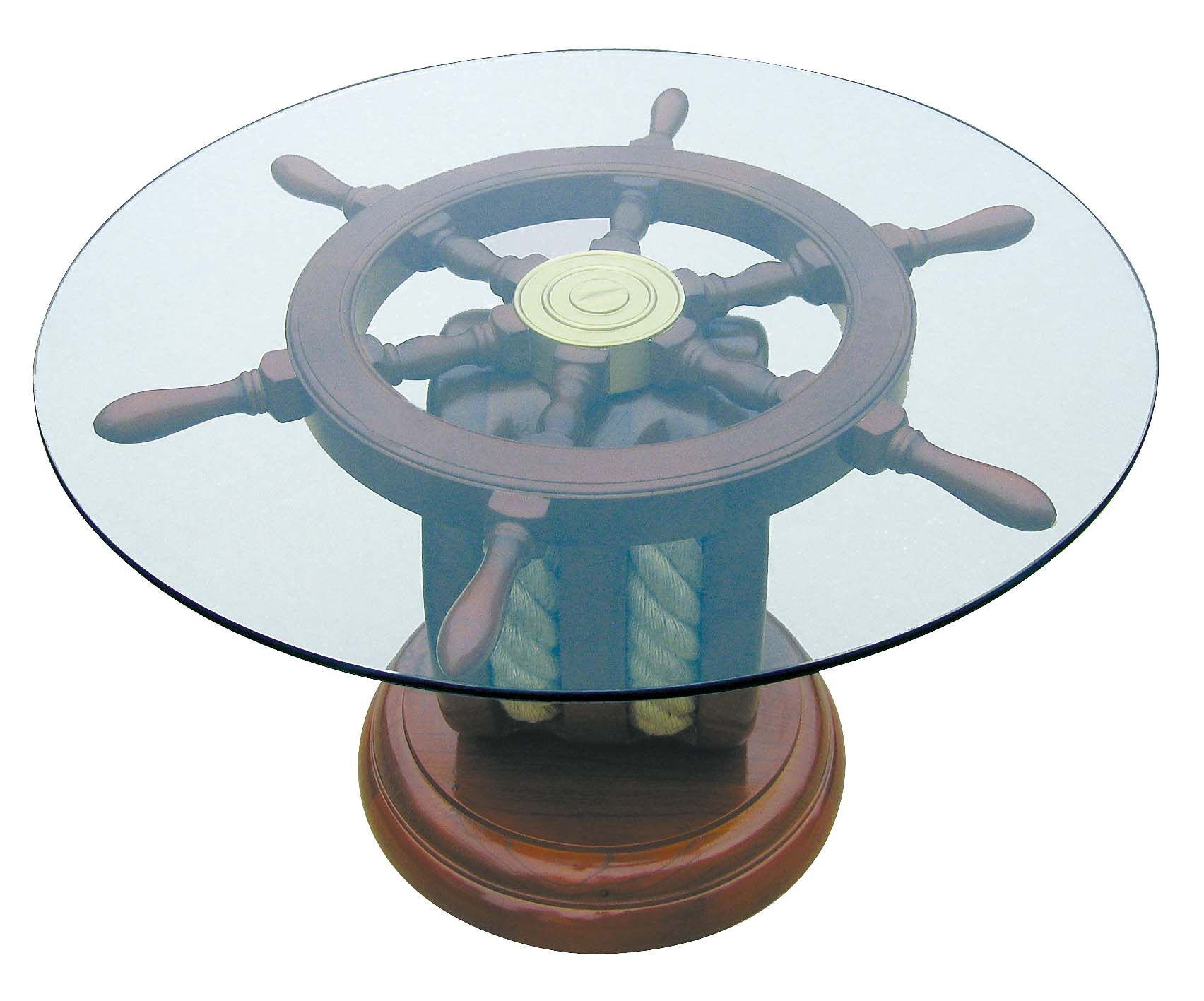 Stylisch Nautical Furniture Nautical Coffee Table Beach House Decor