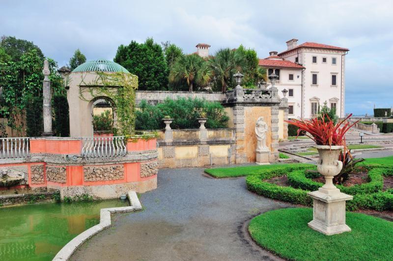 Vizcaya Museum and Gardens (Miami, Florida) | Miami - Vizcaya Museum ...