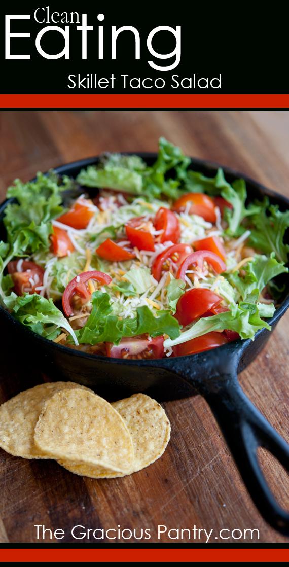 Taco Salad Recipe In A Pan